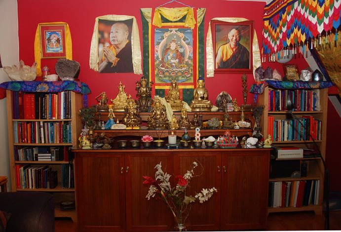 Altars Tibetan Buddhist Altar