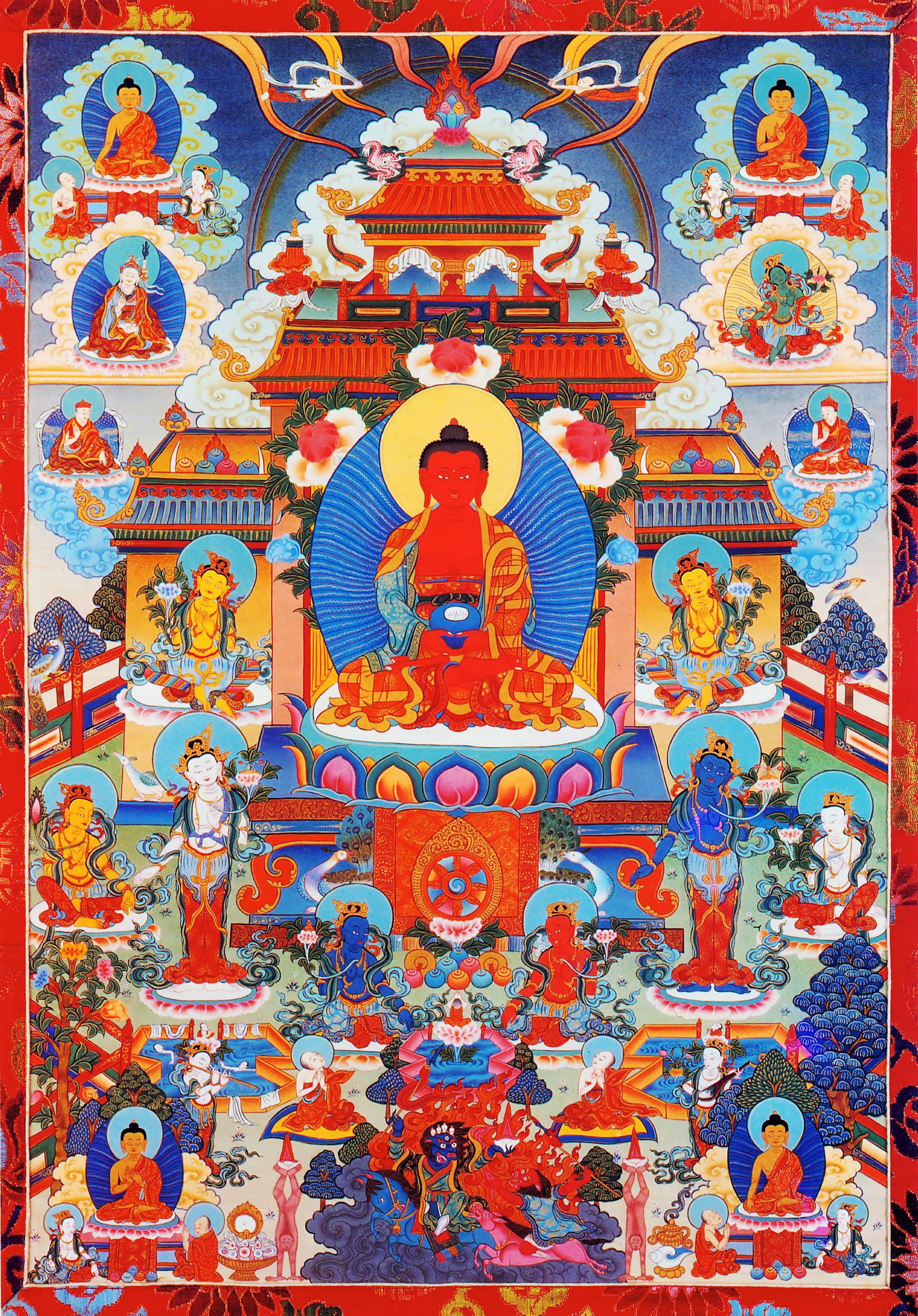 Buddha Amitaba Dewachen