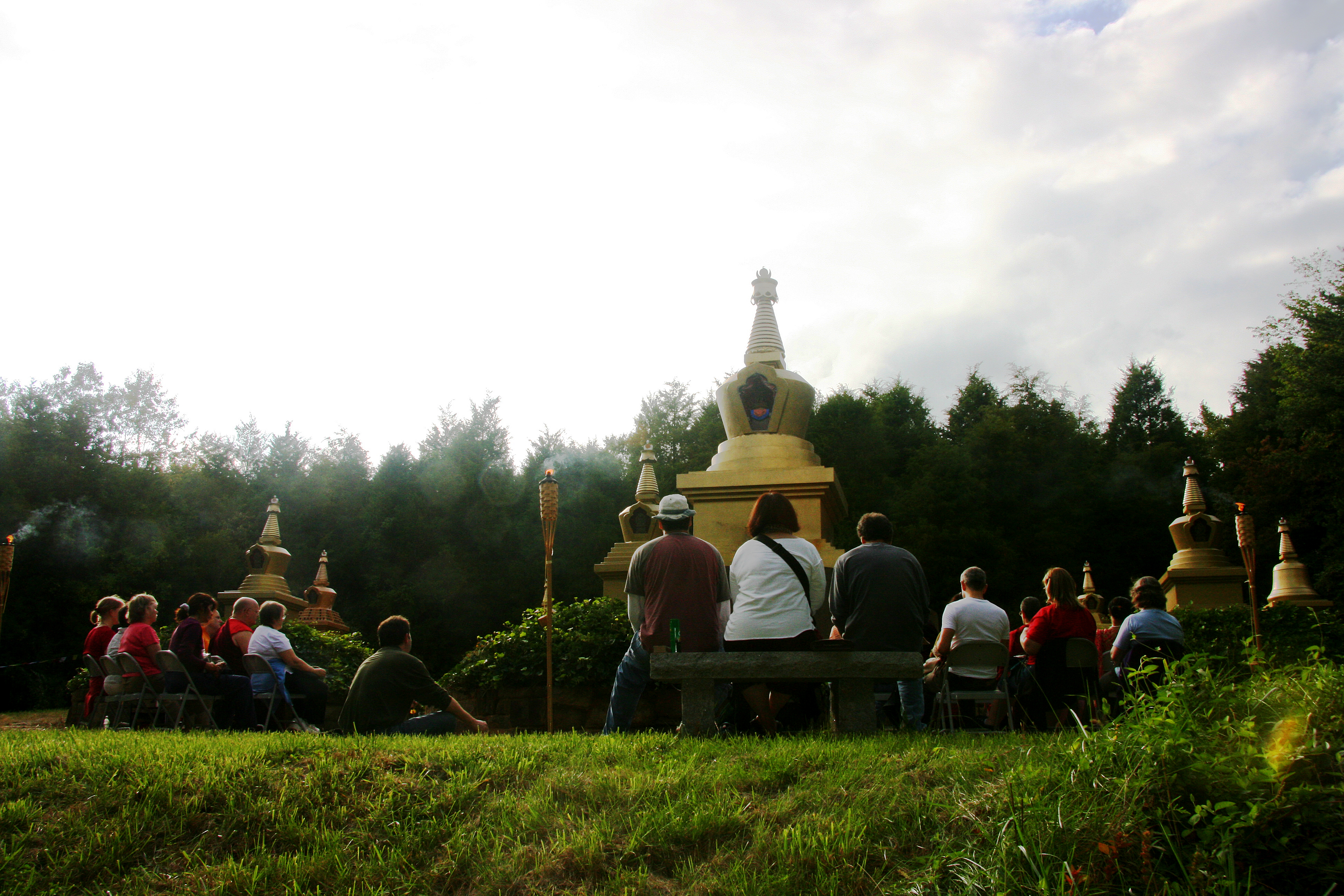 Group Practice Long Life Stupa Park KPC-MD