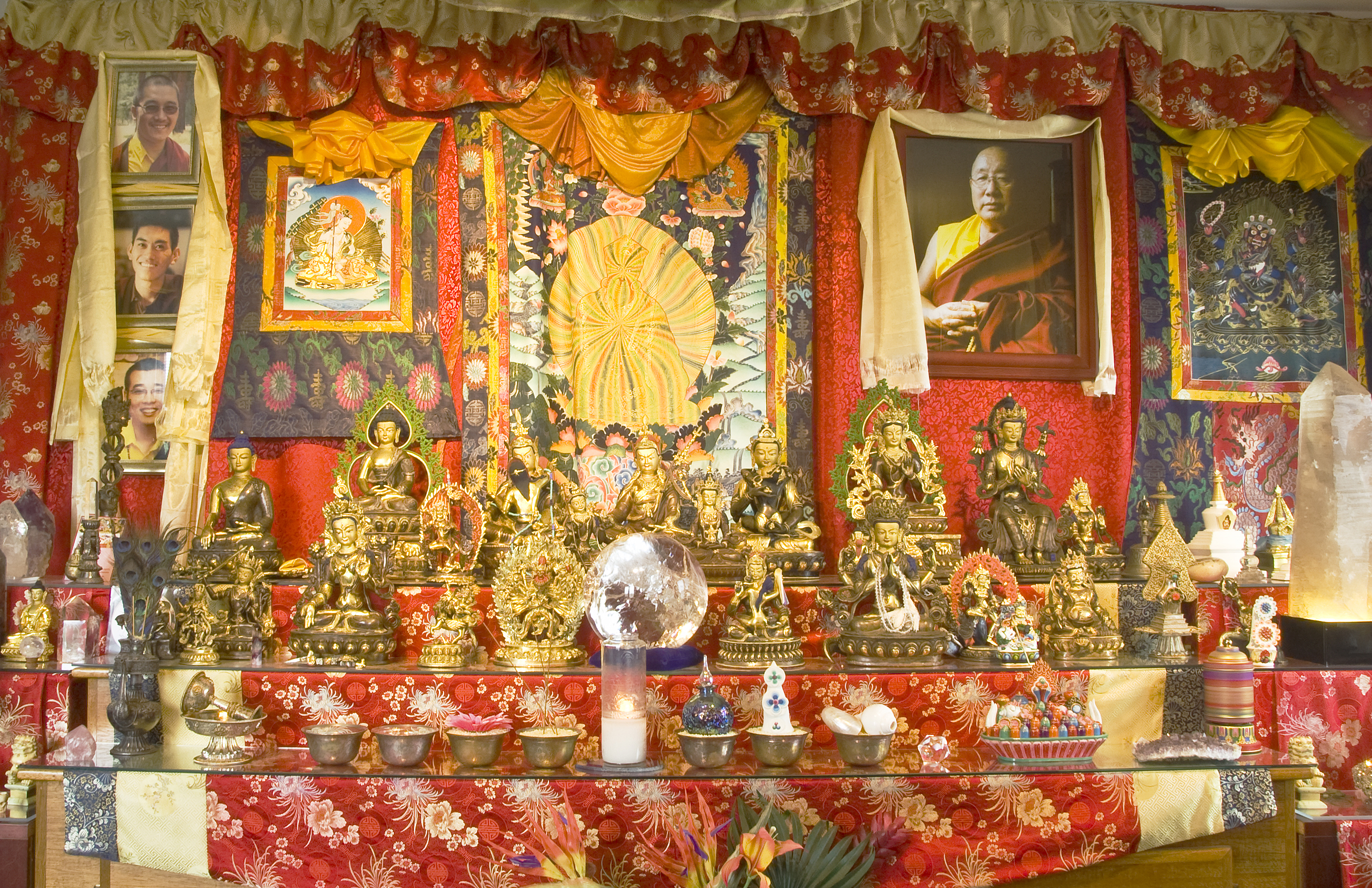 Cyber Prayer Room | Tibetan Buddhist Altar