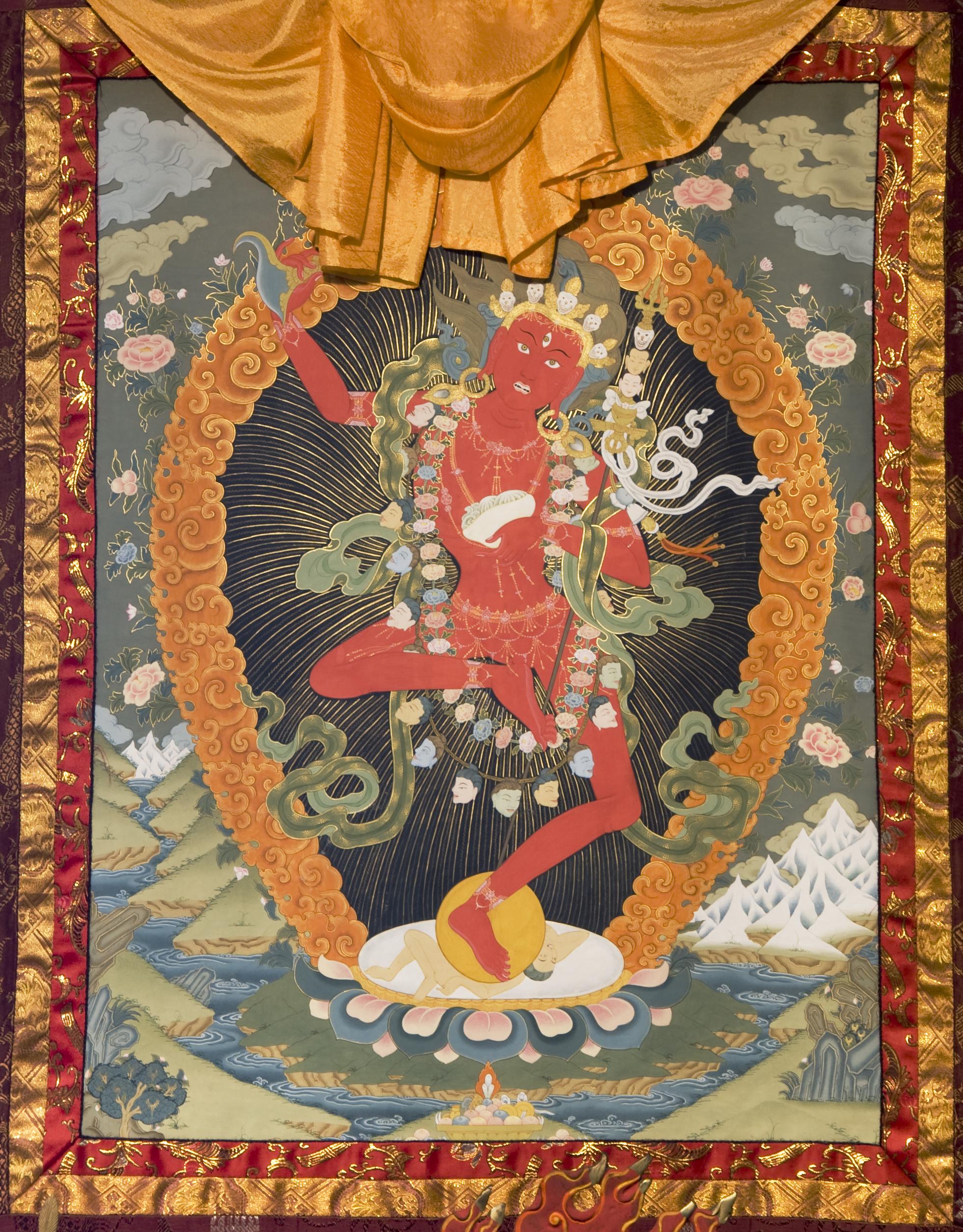 Roar of the Dakini – Tibetan Buddhist Altar